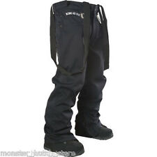 NEW WITH TAGS 2012 Technine NINES DENIM Snowboard Pant BLACK MEDIUM-XLT LIMITED