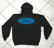 Auto, Black Hoodie, Motor Sports, Classic Ford, 50 / 50 Blend, S - 4XL