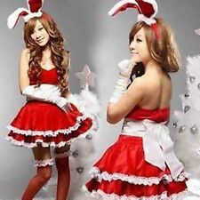 Sexy Bunny Party Club Wear Lingerie Cosplay Dress Set