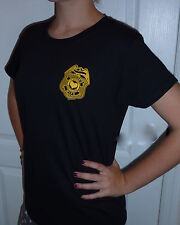 POLICE OFFICER'S WIFE T-SHIRT Cute! 2-Sided PERFECT FOR VALENTINE'S DAY!