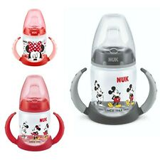 Mickey & Minnie First Choice 150ml Learner Bottle Red / Black Colour Available