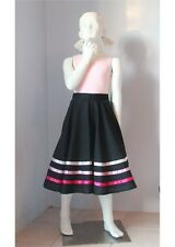 Ellis Bella character skirt for ballet size K6 to K12+ with pink ribbon