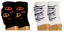 Girls ~*NEW*~ VOLLEYBALL Knee Pad Covers TIGER PEACE Sports ZEBRA