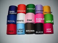 """GROSGRAIN RIBBON  5 YARDS OF 1.5"""" SOLID COLOR *CHOOSE FROM 15 COLORS A1W-QP"""