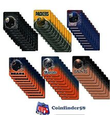 NFL Premium Coasters 10 Pack - Pick Team