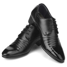 Novamall New Mens Italian Style Dress Casual Shoes Black