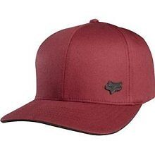 Fox Mr. Clean Flexfit Hat available in Maroon, or Electric Blue