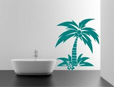 Coconut Palm Tree Wall Sticker Decal Mural Transfer Stencil Vinyl Wall Covering
