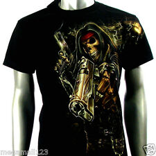 RC Survivor T-Shirt Biker Skull Tattoo Rock WB52 Sz M L XL XXL XXXL Rider mma