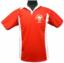 WALES WELSH  CYMRU TRIPLE CROWN WINNERS 2012  RUGBY STYLE SHIRT NEW S M L XL XXL
