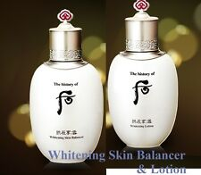 [Dabin Shop] THE HISTORY OF WHOO SKIN CARE WHITENING SKIN & LOTION + SAMPLES !!!