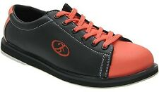 Elite Neon Fire Bowling Shoes - Men - They Glow in the Dark under Black Light!