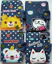 Lovely Animals Small Business / Name / Credit Card Holder Case - Bear Panda Cat