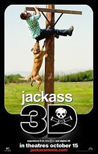 JACKASS 3-D Movie Poster Steve-O MTV Johnny Knoxville