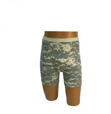 MENS GI TYPE BOXER BRIEFS - CHOICE OF ACU DIGI OR WOODLAND CAMO - SMALL - 2 XL