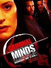 Criminal Minds 8X10 11x17 16x20 24x36 27x40 TV Television Poster Shemar Moore A