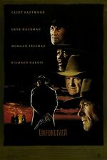 UNFORGIVEN Movie Poster RARE Clint Eastwood Western