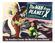 THE MAN FROM PLANET X Movie Poster RARE Sci-Fi Classic