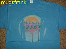 Miami Vice Sunset Crockett & Tubbs Silhouette T-Shirt S M