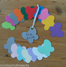 Tags & frame die cuts-mini butterfly Tag-Topper-place cartes-Mariage