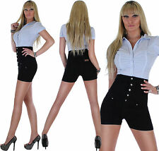 Damen Jeans Shorts Hot Pants Hose Hotpants Damenhose Damenjeans Shorty ★ 4z