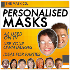 Personalised Quality Face Masks - Use your own photo or picture!