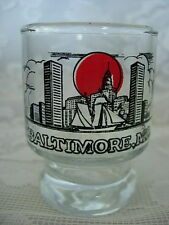 Unusual Collectible BALTIMORE, MARYLAND Shot Glass - NEW