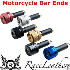 MOTO HANDLEBAR DOUBLE ROUND BAR END WEIGHTS FOR MOTORCYCLES AND SCOOTERS