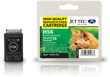 Remanufactured Jettec HP56 Black Printer Ink Cartridge for PSC 1355 & more