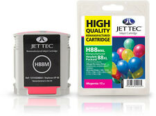 Remanufactured Jettec HP88 Magenta Ink Cartridge for Officejet Pro Printers