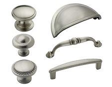 Amerock Satin Nickel Rope Cabinet Hardware Knobs & Pulls