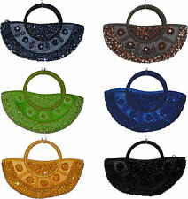 Hand bag or evening and special occasions,black,red,pink,silver,blue,grey,gold