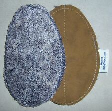 removable insoles for Moxies soft sole leather baby shoes semelles amovible 0-6