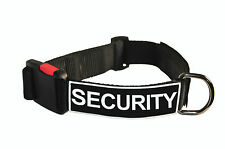 Dog Collar With Velcro Patches by Dean Tyler: Security