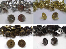 20 Sets of Magnetic Fastener Snaps Clasps for Bags, Craft, Sewing