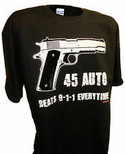 Handguns 45 Auto Colt 1911 9mm Ak47 357 Firearms Pro Gun 2nd Amend T Shirt