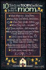 Art Print, Framed or Plaque by Tonya Crawford - Reminders from Mom - TLC208