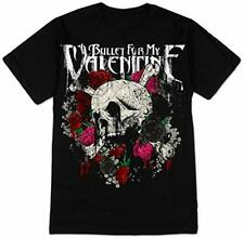 Music Tee BULLET FOR MY VALENTINE - SKULL & ROSES