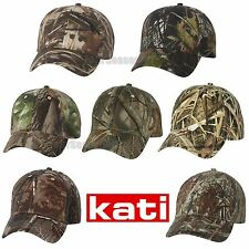 Kati Licensed Camo Cap With Velcro Mossy Oak Realtree Hunting Hat LC15V