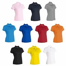 ADIDAS Golf Womens Climalite Basic Polo Sport Shirts Ladies S M L XL 2XL a131