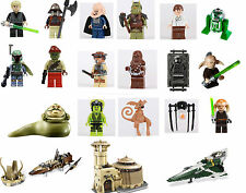 Lego Star Wars Minifigs YOUR CHOICE New Release Jabba Boba Fett 9496 9498 9516