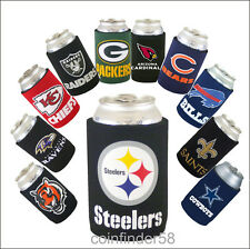 NFL Football Can Kaddy Koozie Drink Holder- Pick Team