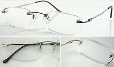 (HM4006)Rimless Reading glasses +1.0+1.5+2.0+2.5+3.0+3.5