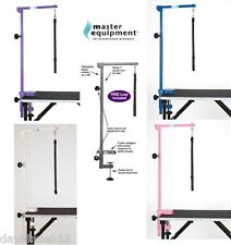 Master Equipment PRO Heavy Duty Pet Dog Adjustable GROOMING TABLE ARM,CLAMP&LOOP