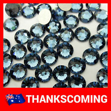 Denim Blue (266) Swarovski Crystal 2028 / 2058 Rhinestones Flat Back No Hotfix
