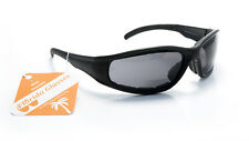Padded Bifocal Sunglasses for Women and Men Motorcycle Wrap-Around Riding