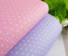1/2 yard Polka Dot-0.2cm white Dots on pink/purple Quilt 100%Cotton Fabric
