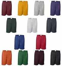 "Badger Sport Mens Size S-5XL NEW 11"" Athletic Pro Mesh Team Shorts w/ Liner 7211"