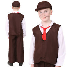 VICTORIAN POOR BOY SCHOOL CURRICULUM FANCY DRESS COSTUME DORGER CHILD S M L