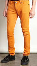 "CRIMINAL DAMAGE ""ORANGE"" SKINNY FIT JEANS"